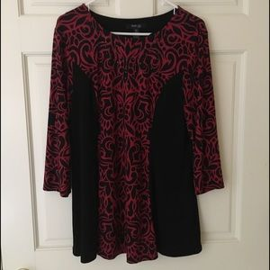Style and Co Tunic (Petite XL) Embellished